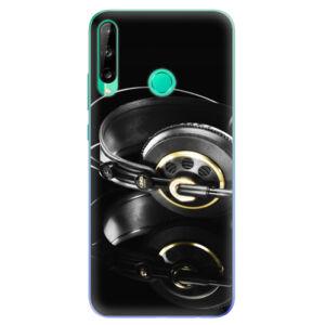 Odolné silikónové puzdro iSaprio - Headphones 02 - Huawei P40 Lite E
