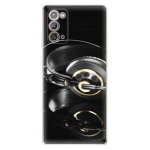 Odolné silikónové puzdro iSaprio - Headphones 02 - Samsung Galaxy Note 20