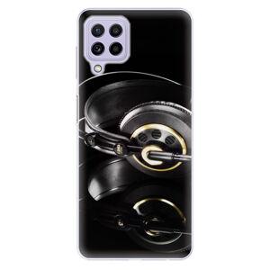 Odolné silikónové puzdro iSaprio - Headphones 02 - Samsung Galaxy A22
