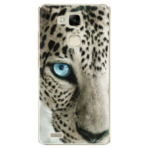 Plastové puzdro iSaprio - White Panther - Huawei Ascend Mate7