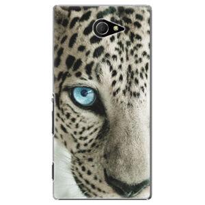 Plastové puzdro iSaprio - White Panther - Sony Xperia M2