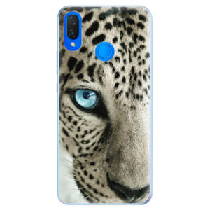 Silikónové puzdro iSaprio - White Panther - Huawei Nova 3i