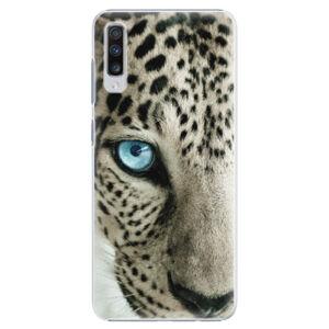 Plastové puzdro iSaprio - White Panther - Samsung Galaxy A70