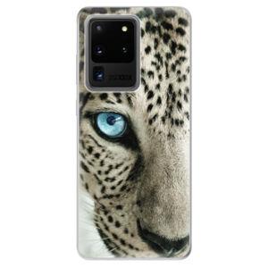 Odolné silikónové puzdro iSaprio - White Panther - Samsung Galaxy S20 Ultra