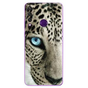 Odolné silikónové puzdro iSaprio - White Panther - Huawei Y6p