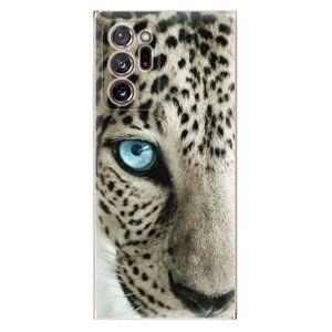 Odolné silikónové puzdro iSaprio - White Panther - Samsung Galaxy Note 20 Ultra
