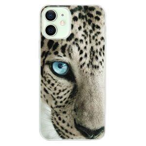 Plastové puzdro iSaprio - White Panther - iPhone 12