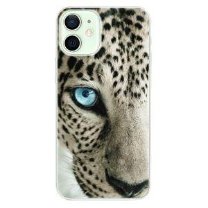Odolné silikónové puzdro iSaprio - White Panther - iPhone 12 mini
