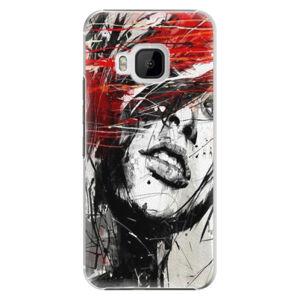 Plastové puzdro iSaprio - Sketch Face - HTC One M9