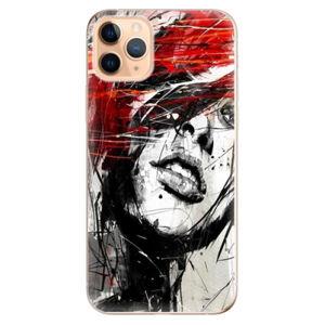 Odolné silikónové puzdro iSaprio - Sketch Face - iPhone 11 Pro Max