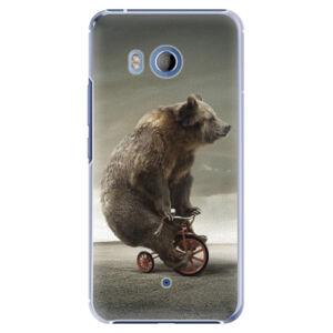 Plastové puzdro iSaprio - Bear 01 - HTC U11