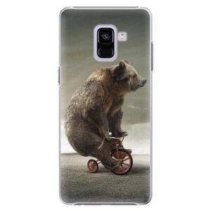 Plastové puzdro iSaprio - Bear 01 - Samsung Galaxy A8+