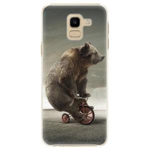 Plastové puzdro iSaprio - Bear 01 - Samsung Galaxy J6