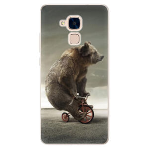 Silikónové puzdro iSaprio - Bear 01 - Huawei Honor 7 Lite