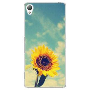 Plastové puzdro iSaprio - Sunflower 01 - Sony Xperia Z3