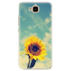 Plastové puzdro iSaprio - Sunflower 01 - Huawei Y6 Pro
