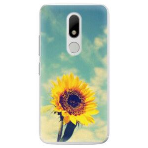 Plastové puzdro iSaprio - Sunflower 01 - Lenovo Moto M
