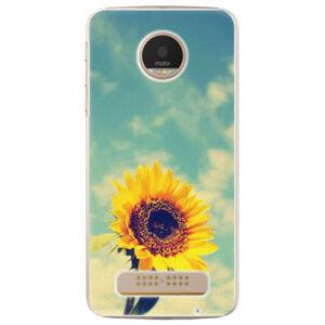 Plastové puzdro iSaprio - Sunflower 01 - Lenovo Moto Z Play