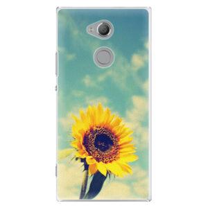 Plastové puzdro iSaprio - Sunflower 01 - Sony Xperia XA2 Ultra
