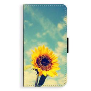 Flipové puzdro iSaprio - Sunflower 01 - Huawei P10 Plus