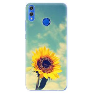 Silikónové puzdro iSaprio - Sunflower 01 - Huawei Honor 8X
