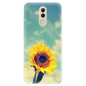 Silikónové puzdro iSaprio - Sunflower 01 - Huawei Mate 20 Lite