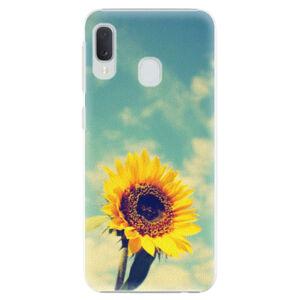 Plastové puzdro iSaprio - Sunflower 01 - Samsung Galaxy A20e
