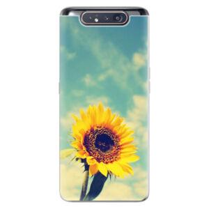 Odolné silikónové puzdro iSaprio - Sunflower 01 - Samsung Galaxy A80