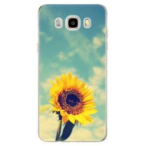 Odolné silikónové puzdro iSaprio - Sunflower 01 - Samsung Galaxy J5 2016