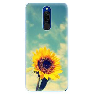 Odolné silikónové puzdro iSaprio - Sunflower 01 - Xiaomi Redmi 8