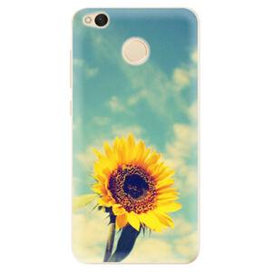 Odolné silikónové puzdro iSaprio - Sunflower 01 - Xiaomi Redmi 4X