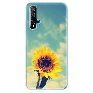 Odolné silikónové puzdro iSaprio - Sunflower 01 - Huawei Nova 5T