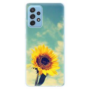 Odolné silikónové puzdro iSaprio - Sunflower 01 - Samsung Galaxy A72
