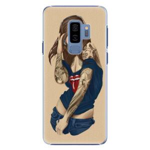 Plastové puzdro iSaprio - Girl 03 - Samsung Galaxy S9 Plus