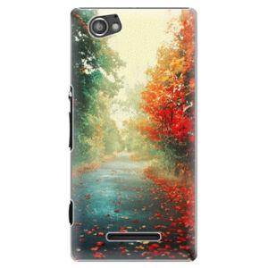 Plastové puzdro iSaprio - Autumn 03 - Sony Xperia M