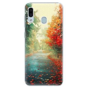 Plastové puzdro iSaprio - Autumn 03 - Samsung Galaxy A30