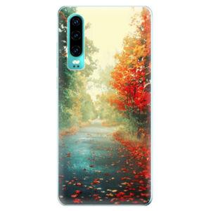 Odolné silikonové pouzdro iSaprio - Autumn 03 - Huawei P30