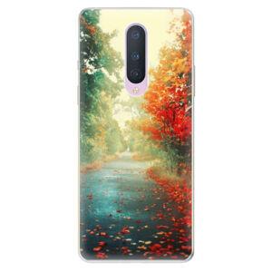 Odolné silikónové puzdro iSaprio - Autumn 03 - OnePlus 8