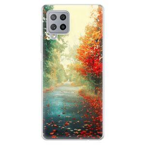 Odolné silikónové puzdro iSaprio - Autumn 03 - Samsung Galaxy A42
