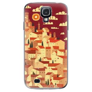Plastové puzdro iSaprio - Mountain City - Samsung Galaxy S4