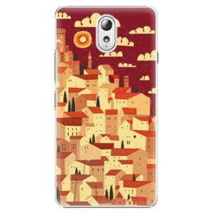 Plastové puzdro iSaprio - Mountain City - Lenovo P1m