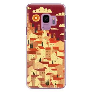 Plastové puzdro iSaprio - Mountain City - Samsung Galaxy S9