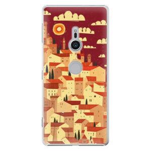 Plastové puzdro iSaprio - Mountain City - Sony Xperia XZ2