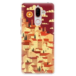 Plastové puzdro iSaprio - Mountain City - Nokia 7 Plus