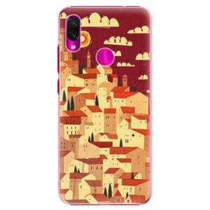Plastové puzdro iSaprio - Mountain City - Xiaomi Redmi Note 7