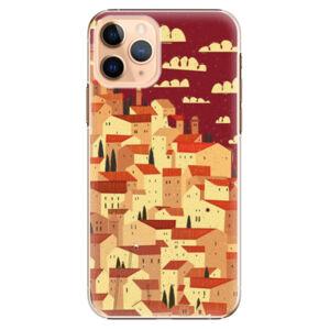 Plastové puzdro iSaprio - Mountain City - iPhone 11 Pro