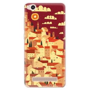 Odolné silikónové puzdro iSaprio - Mountain City - Xiaomi Redmi 4A