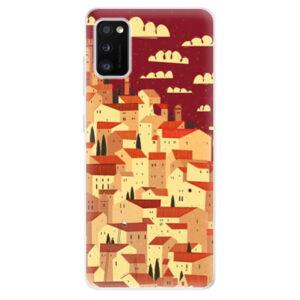 Odolné silikónové puzdro iSaprio - Mountain City - Samsung Galaxy A41
