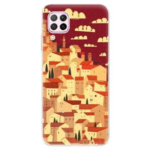 Odolné silikónové puzdro iSaprio - Mountain City - Huawei P40 Lite