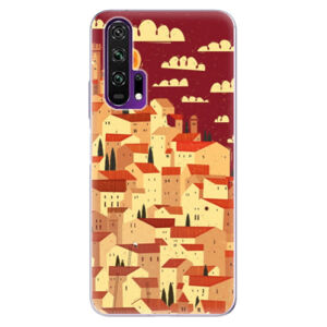 Odolné silikónové puzdro iSaprio - Mountain City - Honor 20 Pro